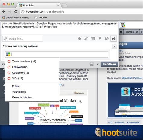 hootsuite workflow hootsuite extends pages to all users hootsuite