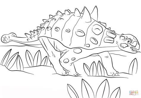 euoplocephalus coloring page jurassic park euoplocephalus coloring page free