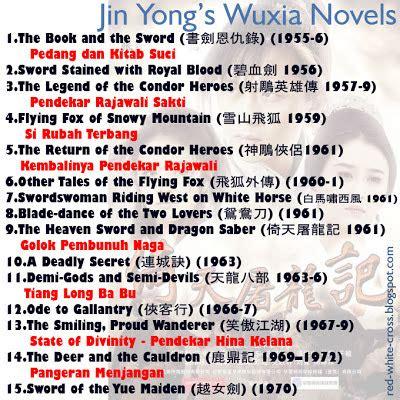 Jin Yong Golok Naga Dan Pedang Langit 3 and white cross may 2013