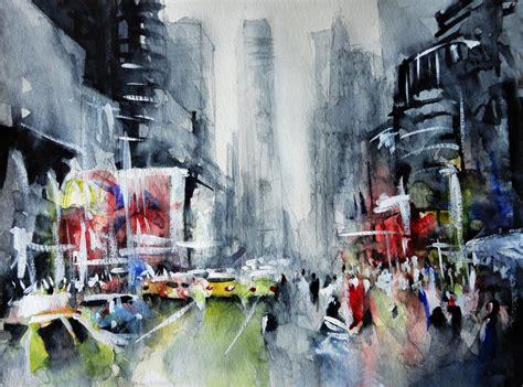 acrylic painting new york new york new york watercolor by nicolasjolly on deviantart