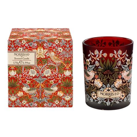 Goldenfil Strawberry morris co strawberry thief scented candle 240 g