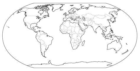 imagenes en negro para imprimir mapamundi en blanco para imprimir y colorear para ni 241 os