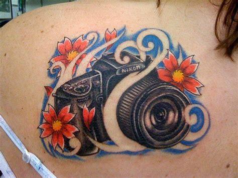 camera tattoos theme