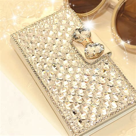 Flip Flip Cover For Samsung A7 Pocket Size luxury bling flip leather phone for samsung