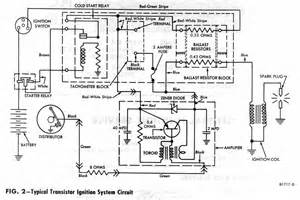 typical transistor ignition system circuit diagram of 1965 ford and mercury circuit wiring