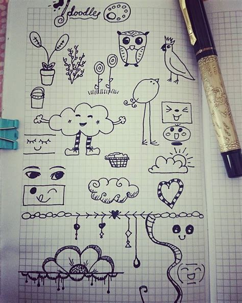 doodle drawing inspiration 967 best planner doodles images on notebook