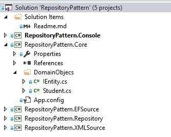 repository pattern multiple entities repository pattern for net codeproject