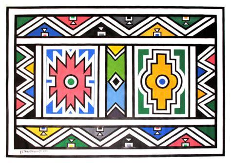 vector background ndebele artwork esther mahlangu design heard