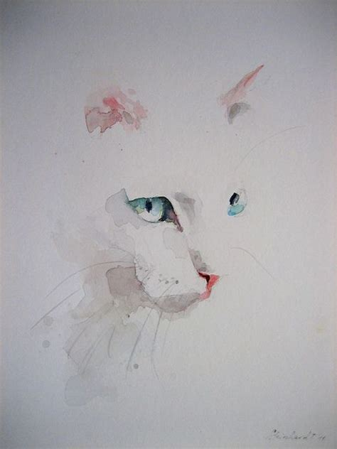 easy cat painting ideas best 25 watercolor cat ideas on watercolor
