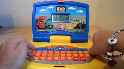 speelgoed computer worlds best bob the builder toy learning laptop in english