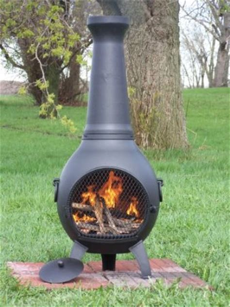 Metal Chiminea Paint Cast Aluminum Chiminea An Informational Guide