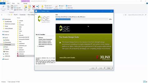 tutorial ise design suite 14 7 xilinx ise design suite 14 7 installation youtube
