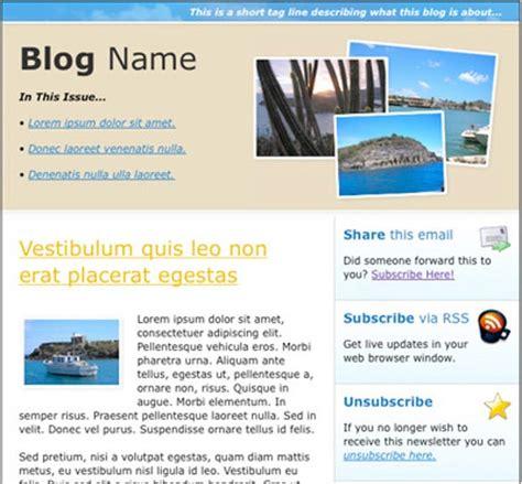 html newsletter templates sample