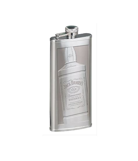jack daniels barware jack daniel s licensed barware silver stainless steel 147 86 boot flask bottle buy