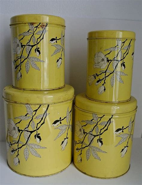 129 best yellow canisters images on pinterest vintage kitchen 84 best images about very vtg kitchen grey ylw