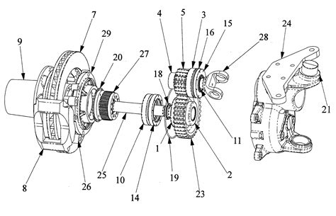 design portal frame exle patent us20060207384 portal axle apparatus google patents