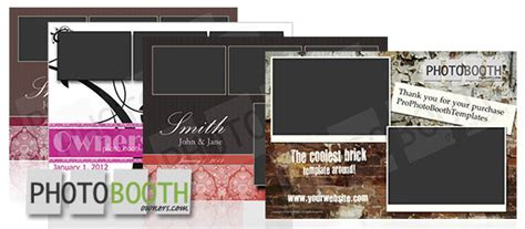 New Photo Booth Template Design Shop For Photo Booth Owners Photo Booth Owners Templates
