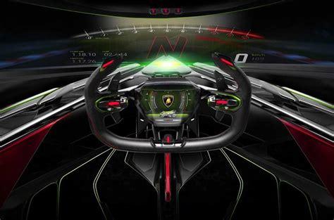 wild lamborghini  vision gt concept revealed autocar