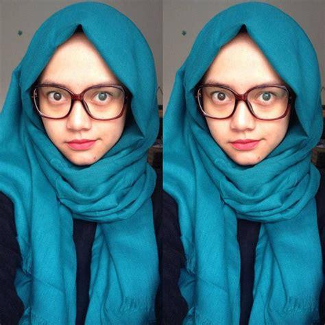 tutorial jilbab berkacamata kreasi jilbab mahasiswi yang cocok dengan kacamata