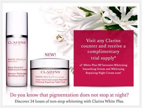 Ranee Whitening Lotion 4 5ml and adventures review clarins new white