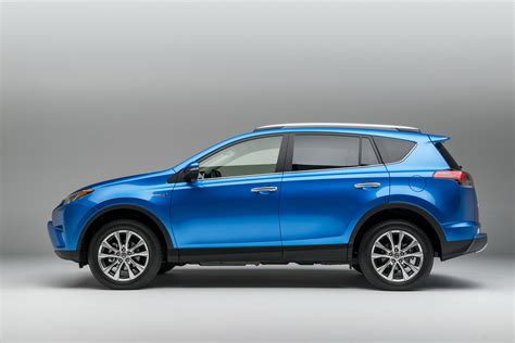 Toyota Rav4 Mileage 2016 Toyota Rav4 Hybrid Brings Higher Mileage Refreshed