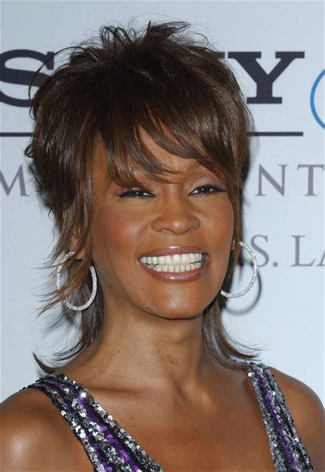 haircuts by whitney more pics of whitney houston layered razor cut 5 of 13