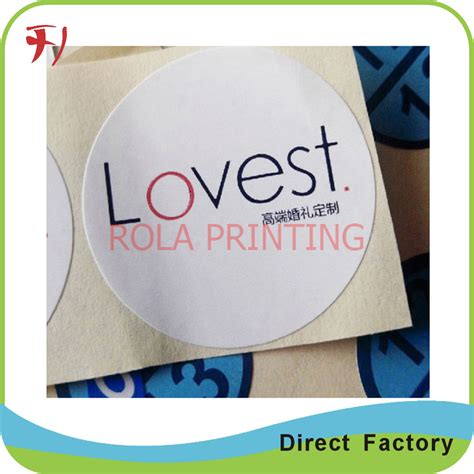 Promotional Various Style High Quality Custom School - high quality printing custom own logo adhesive roll label
