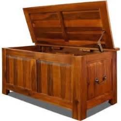 wooden storage boxes ebay