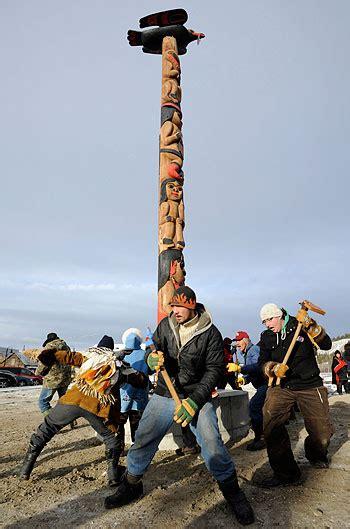 Stewart Works The Pole by Raising Spirits Yukon News
