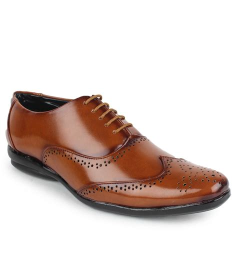 beonza brown formal shoes price in india buy beonza brown