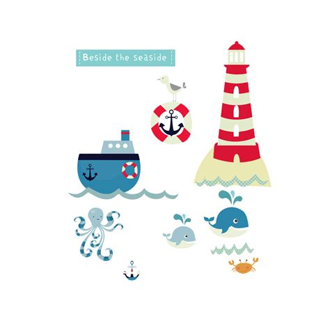 seaside wall stickers beside the seaside wall stickers littleprints