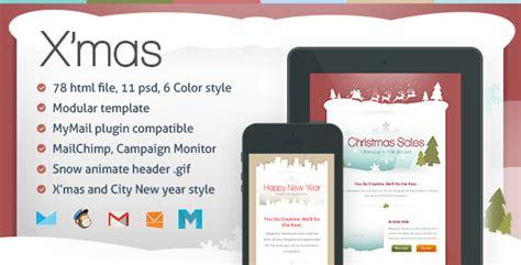 20 Best New Year Newsletter Templates 2014 Designmaz Mailchimp New Year Template