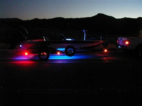 boat trailer lights in water 46 best images about way kul led lighting on pinterest
