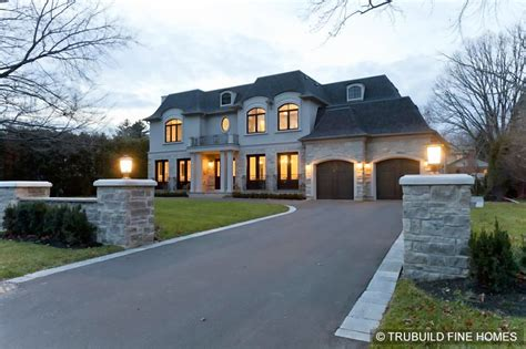 build custom home gallery custom built homes oakville trubuild custom