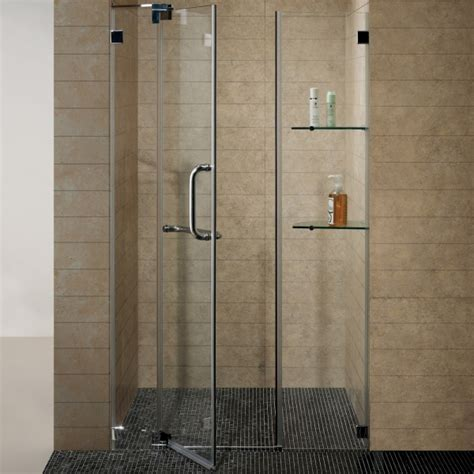 Small Shower Doors Homethangs Has Introduced A Guide To Luxury Showers For A Small Bathroom