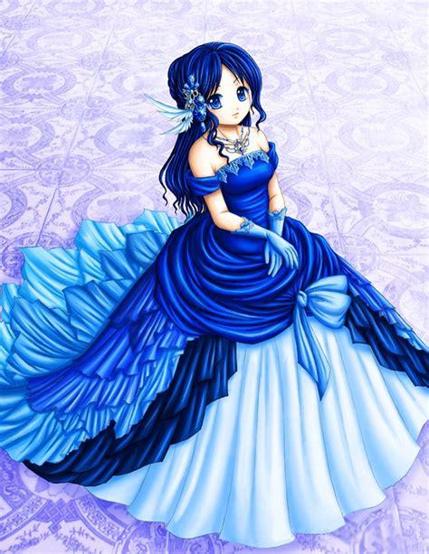 Anime Princess | anime princess i love how they did the fabric anime
