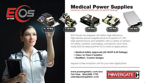 medical design magazine 1 3 page horizontal ad for medical design magazine on behance