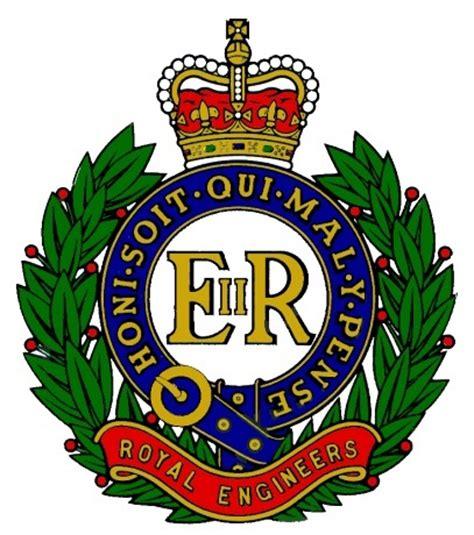 Engineers Bench Royal Engineers Crest Cap Badge