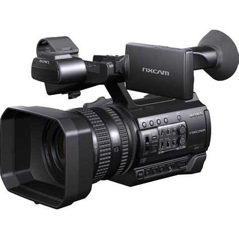 hd sony sony hxr nx100 hd nxcam camcorder hxr nx100 b h photo