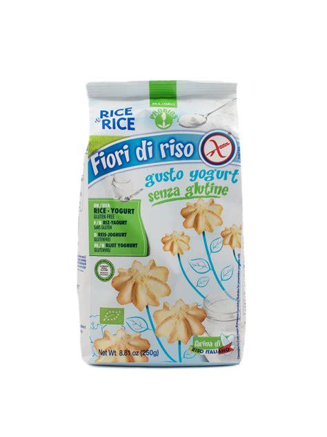 fiori di riso fiori di riso rice biscuits with yogurt 8 8 oz 187 buon