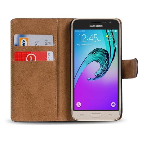 Book Flip Shell Samsung Galaxy J1 Ace book samsung galaxy j1 mini 2016 h 252 lle tasche flip cover handy etui schwarz ebay