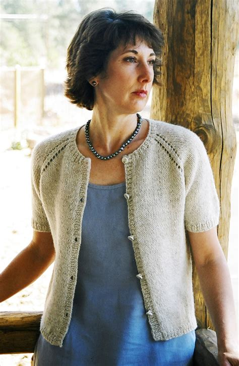 knit pattern summer sweater 221 neck down summer cardigan knitting pure and simple