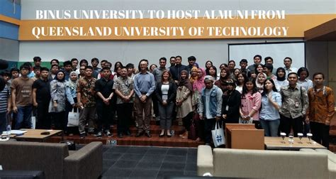 Of Queensland Mba Tuition Fees by Binus To Host Almuni From Queensland