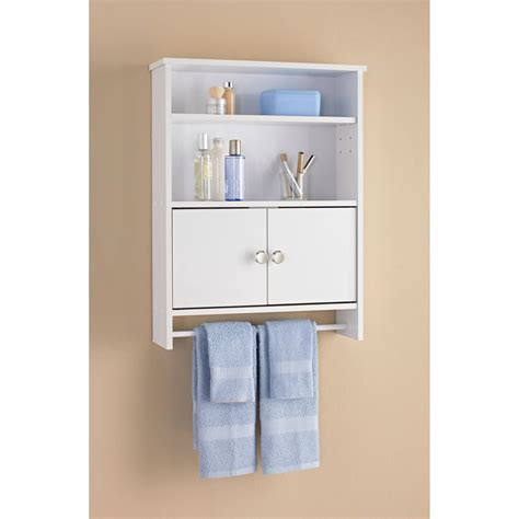 small wall cabinet with doors 10 great bathroom wall cabinet choices ward log homes