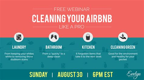airbnb forum cleaning your airbnb like a pro free webinar we are