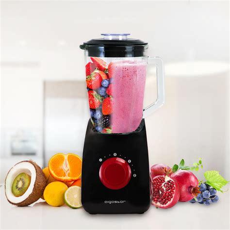 aigostar pomegranate 30jdf batidora americana de vaso multifunci 243 n potencia 750 w con dos