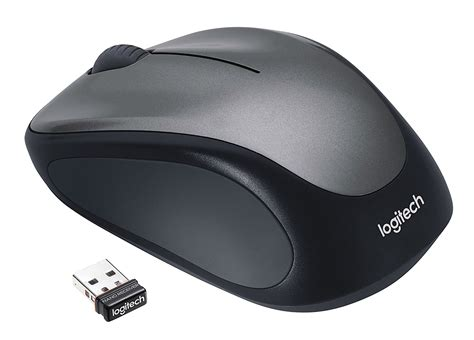 Mouse Komputer Logitech logitech wireless optical mouse m235 nano receiver