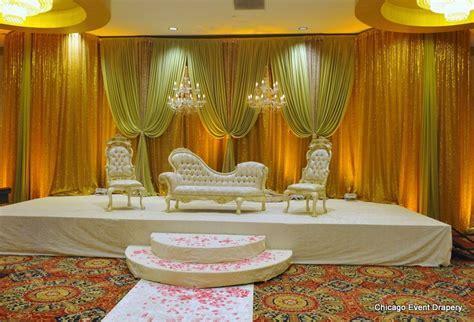 Muslim wedding stage decor, sani mar decor, Pakistani