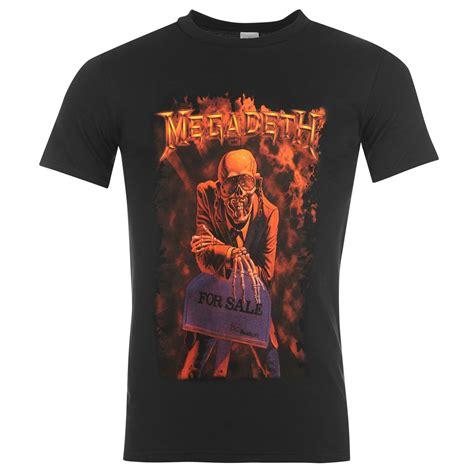 Tshirt Megadeth 5 official megadeth t shirt mens peace sells top tshirt