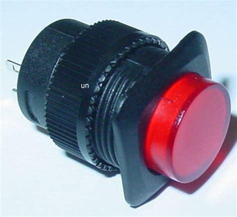 Lu Led Tali led pulsante pulsante canello rosso illuminato